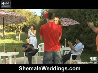 Hot shemale weddings mov starring senna, alessandra, patricia_bismarck