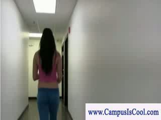 Student doing a sex sexperiment