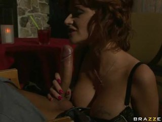 Pleasant And Freaky Engulfing Of Penis By Drunken Babe