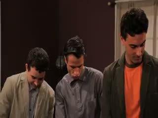 брюнетка, груповий секс