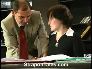 строга господарка, колан с пенис, смесвам