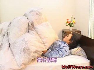 Bunko kanazawa erotico asiatico infermiera teaches