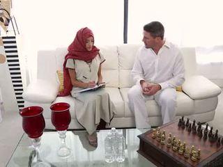 arab, massasje, indisk