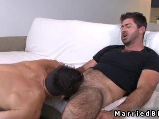 Casatorit fellow acquires sexy homosexual muie