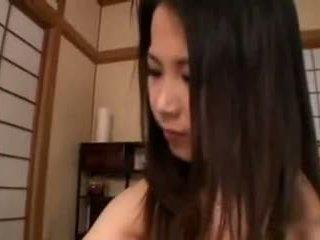 Aya nakano-hand jobb breastmilk healing av tom