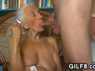büyük göğüsler, büyükanne, oral seks