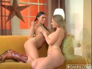 Lesbian addict Abby Rode starts the fire burning with a hot whore