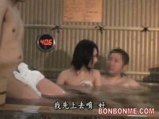 Kone knullet av amatør mann i spa del 1 av 2