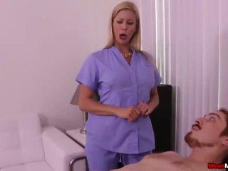 Super hot milf orgasme kontroll