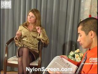 trữ tình dục tất cả, nylon slips and sex mới, anh sex and nylon stockings mới