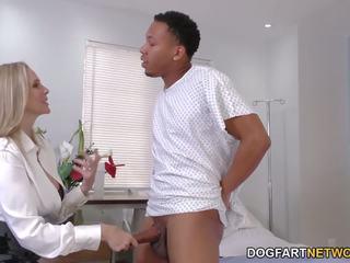 クーガー 医師 julia ann cures ブラック コック, ポルノの f6