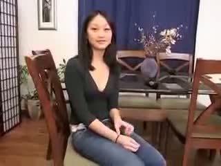 Cinese ragazza evelyn lin primo tempo anale