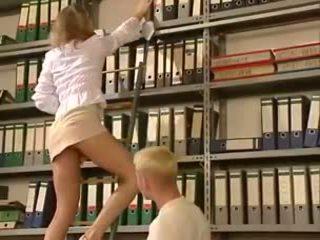 fun blondes scene, blow job, nice ass licking tube