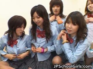 Asiatic schoolgirls having anal sex porno