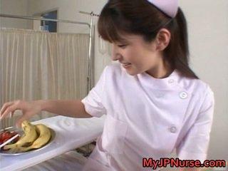 Ann nanba encantador asiática miúda licks