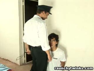 スリム tw-nk tastes 刑務所 guard's 大きい 脂肪 コック