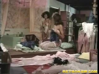 лесбийски секс, лесбийка, ретро порно