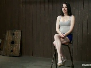 Cocoa Haired Scarlet Faux Has Spanked And Tortured In Freaky Bound Mov