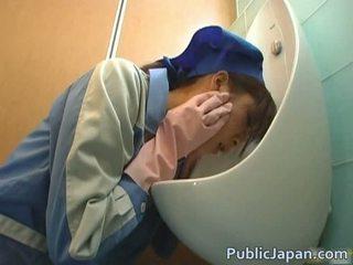 Ázijské video toaleta hlava