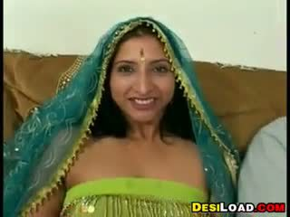 Indian Whore In A Threesome