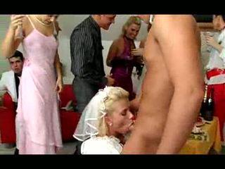 wedding, seks, orgie
