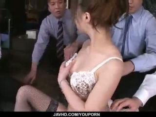 Aiko hirose gets fodido por tudo dela escritório colleagues