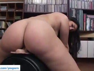 shaved pussy, big tits, big natural tits