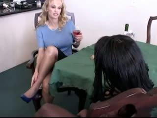 sex toys, lesbians, black and ebony