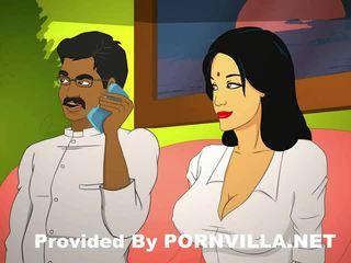 Savita bhabhi 1st vídeo temporada hindi porno indiana mallu telugu