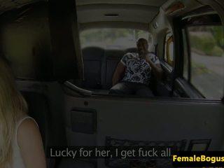 Busty London Cabbie Cockrides BBC on B...