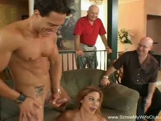 Screw My Wife Club: Latina housewife birthday sex with stranger