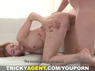 Tricky agent - eager cutie with potential