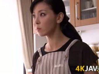 יפני אישה gets מזוין