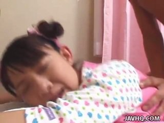 Young Oriental Teen Bumped Hard Uncens...