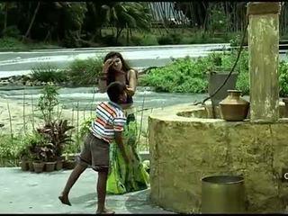 Nayanthara sıcak navel ve boncuk dıldo