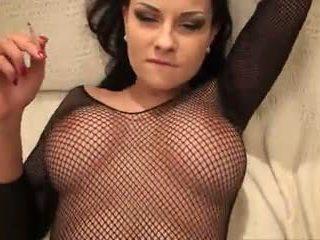 ধুমপান fetish- abbie c