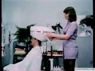 Terangsang hairdresser