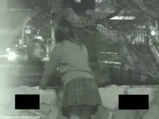 Hiden cam outdoor sex