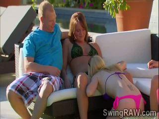 swingers, outdoors