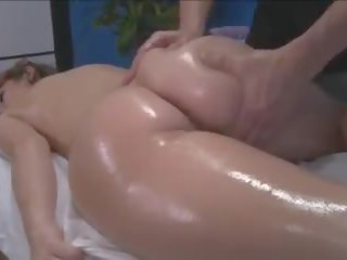 Massage and Fuck a Hot Brunette, Free Porn 58