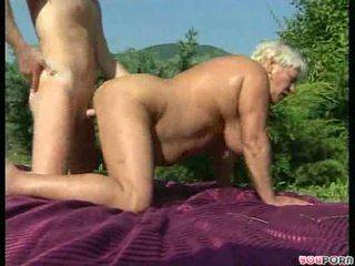 Helga gets a hosing