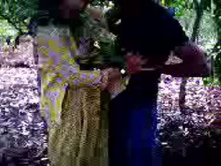 Guy Succeeded In To Fuck His Girl Friend In Forest