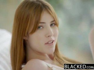 Blacked gwen stark og amarna miller første flere raser trekant