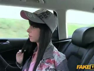 Petite Jessika fucked by the taxi driver