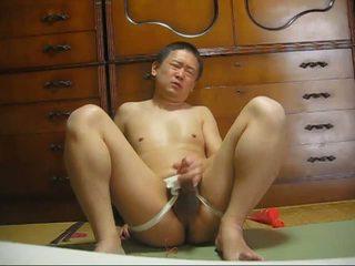 Japanilainen homo masturbation