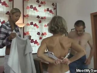 She is lured into agzyna bermek 3 adam by his parents