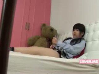क्यूट seductive कोरियन बेब बॅंगिंग