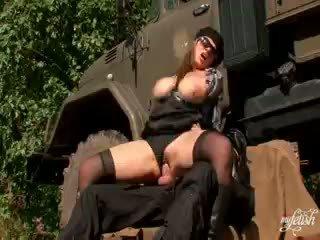 reality, big boobs, uniform