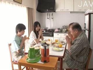 japán, blowjob, kisbaba