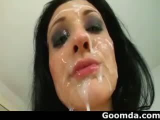 cumshots, gezichtsbehandelingen